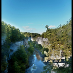 taughannock falls gorge By Charles Baldwin