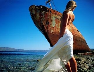 Manolis Tsantakis: 'The shipwreck', 2004 Color Photograph, nudes.