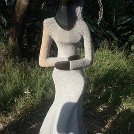 Emmanuel Machingambi: 'women', 2019 Stone Sculpture, Body.