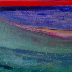 , Lake Michigan, Abstract Landscape, $488