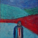 man in red tie By Marc Awodey