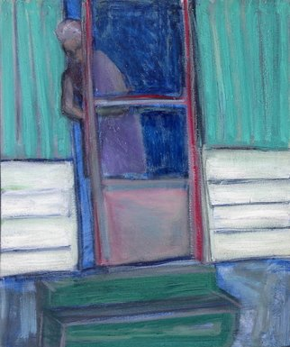 Marc Awodey Artwork the door, 2005 Other Painting, Abstract Figurative