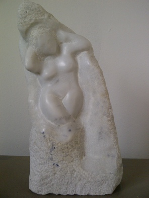 Stone Sculpture by Marcin Biesek titled: Eve, 2011