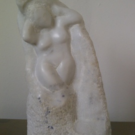 Marcin Biesek Artwork Eve, 2011 Stone Sculpture, Nudes