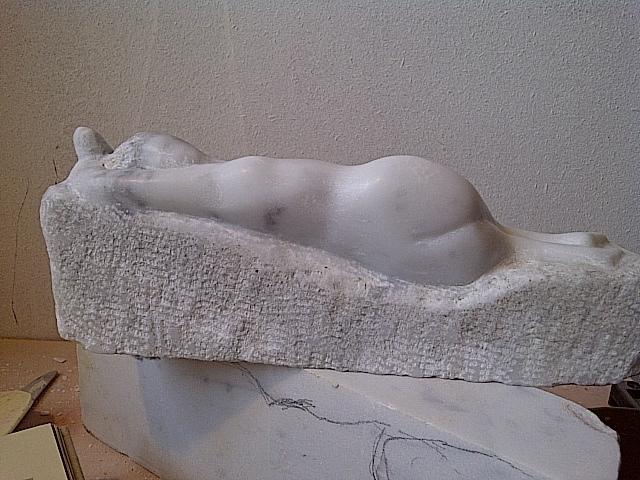 Marcin Biesek Reclining woman 2011 & Marcin Biesek Artwork: Reclining woman | Original Sculpture Stone ... islam-shia.org