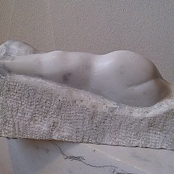 , Reclining Woman, Nudes, $1,050