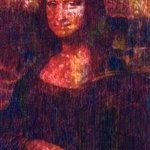 Mona  Lisa  after Leonardo   print numbered  35 By Marco Mark