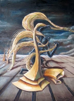 Surrealism Oil Painting by Marcus Gooding Title: Narcosis, created in 2010