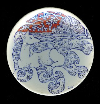 Setyo Mardiyantoro Artwork Cerva, 2010 Wheel Ceramics, Animals