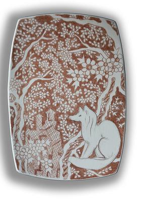Setyo Mardiyantoro Artwork fox, 2009 Other Ceramics, Animals