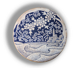 Wheel Ceramics by Setyo Mardiyantoro titled: seascape, created in 2009