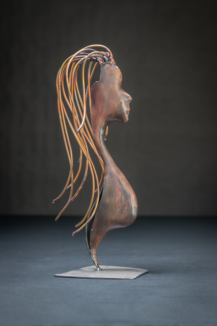 Stephen Maresco  'Ladies Copper Silouette', created in 2020, Original Sculpture Other.