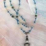 Bali With Blue Beads, Margaret Stone