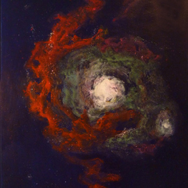 Margaret Stone Artwork Mists of Circinus, 2014 Acrylic Painting, Astronomy