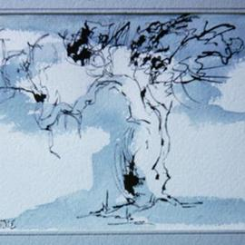 Margaret Stone Artwork Tree, 2005 Other Drawing, Nature