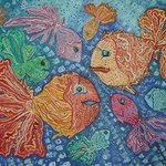 funny fishes By Devdariani Mariam
