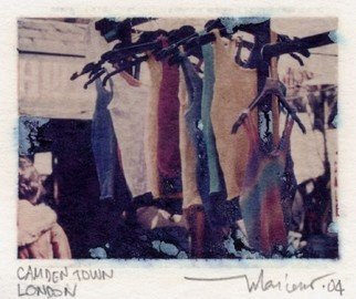 Mariano Biazzi Alcantara: 'Camden Town', 2004 Polaroid Photograph, Urban.  Polaroid transfer image on watercolour paper ...