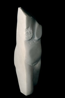 Marian Velescu: 'Cubist nude 2', 2010 Stone Sculpture, Abstract Figurative. Artist Description:  Material woman.  ...