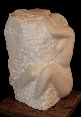 Marian Velescu: 'Thoughts', 2010 Stone Sculpture, Meditation. Artist Description:  Thoughts, meditation . . . life   ...