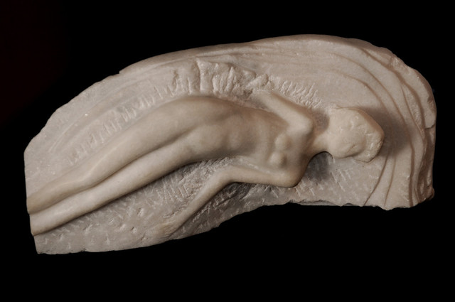 Marian Velescu  'Waves', created in 2010, Original Sculpture Stone.