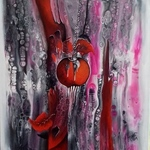 the red apple By Mariana  Oros