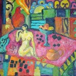 Nude in a Landscape By Carolyn Alston Thomas