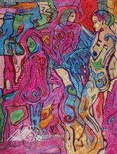- artwork Three_Figures-1256577402.jpg - 2009, Printmaking Giclee - Open Edition, Figurative