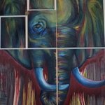 elephant By Marina Wootton