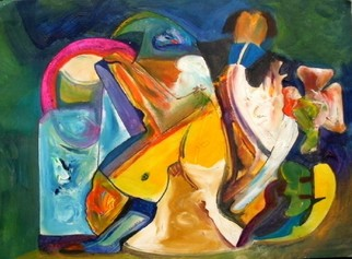 Mario Ortiz Martinez Artwork 19 CENTURY, 2009 Oil Painting, Abstract Figurative