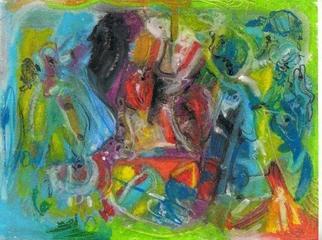 Mario Ortiz Martinez Artwork ABSTRACT AN FURIOUS, 2011 Mixed Media, Fantasy