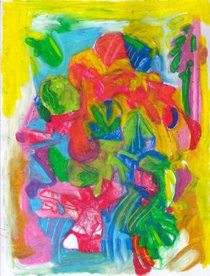 Mario Ortiz Martinez Artwork ABSTRACT STILL LIFE 1, 2011 Oil Pastel, Fantasy