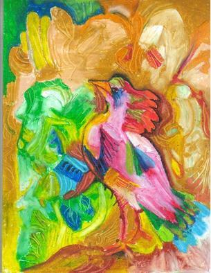 Mario Ortiz Martinez Artwork DREAM BIRD, 2011 Mixed Media, Fantasy