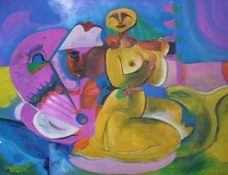 Mario Ortiz Martinez Artwork ELIA, 2008 Oil Painting, Abstract Figurative