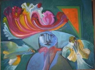 Mario Ortiz Martinez Artwork GENEROSITY, 2008 Oil Painting, Abstract Figurative