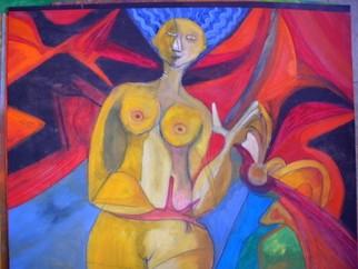 Mario Ortiz Martinez Artwork LAURA, 2008 Oil Painting, Abstract Figurative