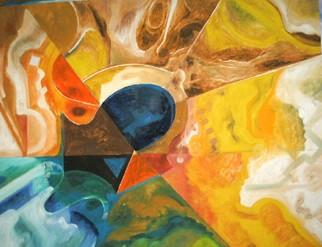 Mario Ortiz Martinez Artwork LAVA, 2008 Oil Painting, Abstract Figurative