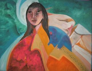 Mario Ortiz Martinez Artwork MALITZIN, 2008 Oil Painting, Abstract Figurative