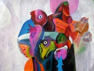 Mario Ortiz Martinez Artwork NAIF, 2009 Oil Painting, Abstract Figurative