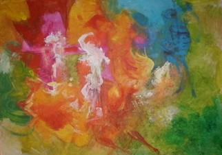 Mario Ortiz Martinez Artwork NEW VISION OF CITEREA, 2009 Acrylic Painting, Abstract Figurative