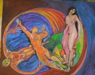 Mario Ortiz Martinez Artwork ODE TO VENUS, 2008 Acrylic Painting, Abstract Figurative