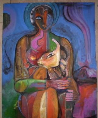 Mario Ortiz Martinez Artwork SHEPHERD, 2008 Mixed Media, Abstract Figurative