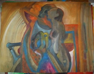 Mario Ortiz Martinez Artwork UNTITLED 4, 2008 Oil Painting, Abstract Figurative