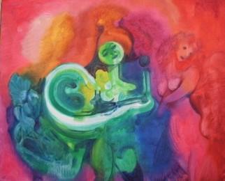 Mario Ortiz Martinez Artwork VALSE, 2008 Oil Painting, Abstract Figurative