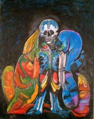 Mario Ortiz Martinez Artwork happy calavera, 2005 Other Painting,
