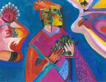 - artwork the_offering-1223056818.jpg - 2004, Painting Oil, Figurative