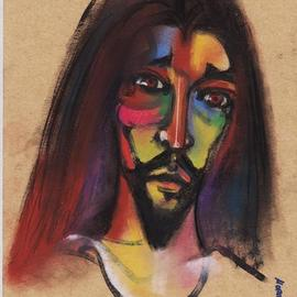 young jesus By Mario Ortiz Martinez