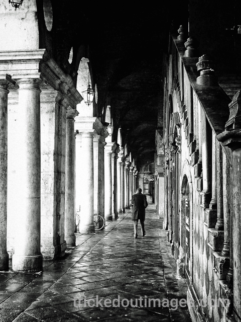 Mark Charles Fox: Vicenza, 2017 Black and White Photograph