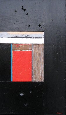Mark Mazurczyk Artwork 'No  2 2', 2011. Mixed Media. Geometric. Artist Description: No. 2. 2wood, metal and paint15