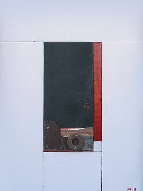 Mark Mazurczyk Artwork 'No  2 5', 2011. Mixed Media. Geometric. Artist Description: No. 2. 5wood, paint, metal13