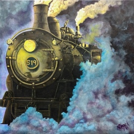 Steam Engine 519, Michael Arnold